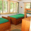 Fourth bedroom with 4 twin beds