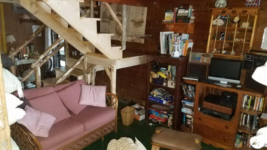 Rainy day corner-books, games, movies, music