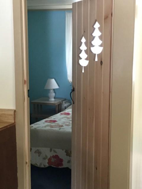 Door into bedroom