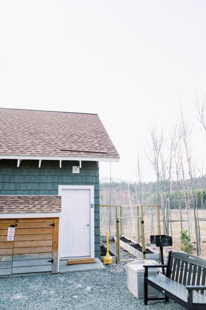 Entrance to Overlook Mountain Hideaway