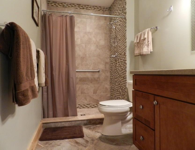 Beautiful new bathrooms!