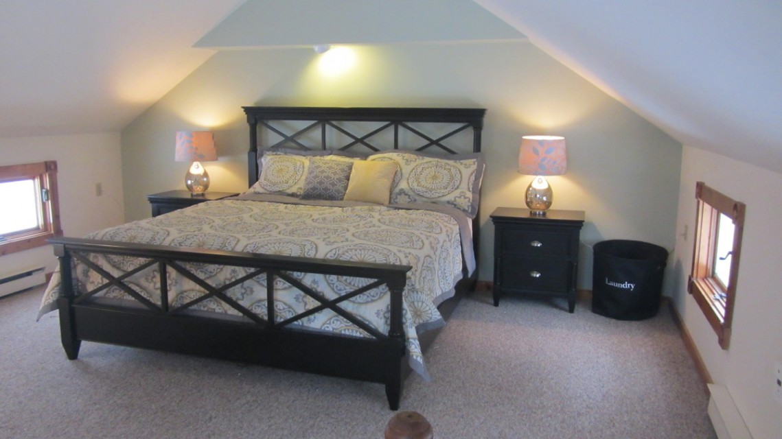 Master Suite- King sized bed