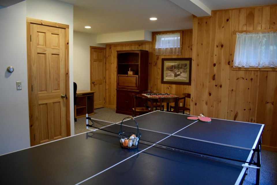 Family Room Ping Pong Table/Game Table/Office Area