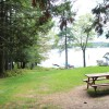 Lake view from the door of Ceder Chest Cabin