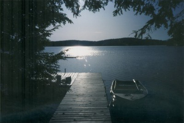 The lake and the dock