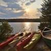 4 KAYAKS, 2 SUPS, CANOE INCLUDED