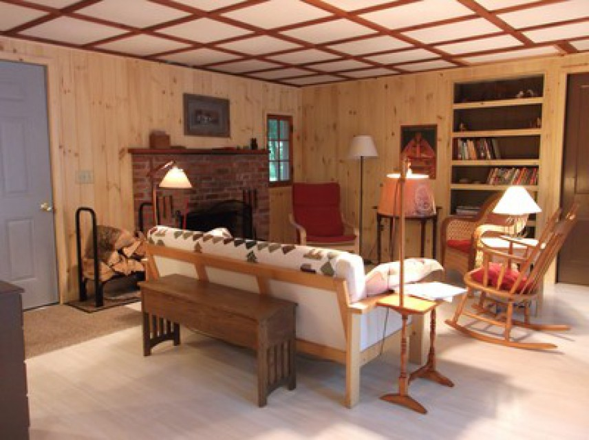 Great room of cabin-  View 2