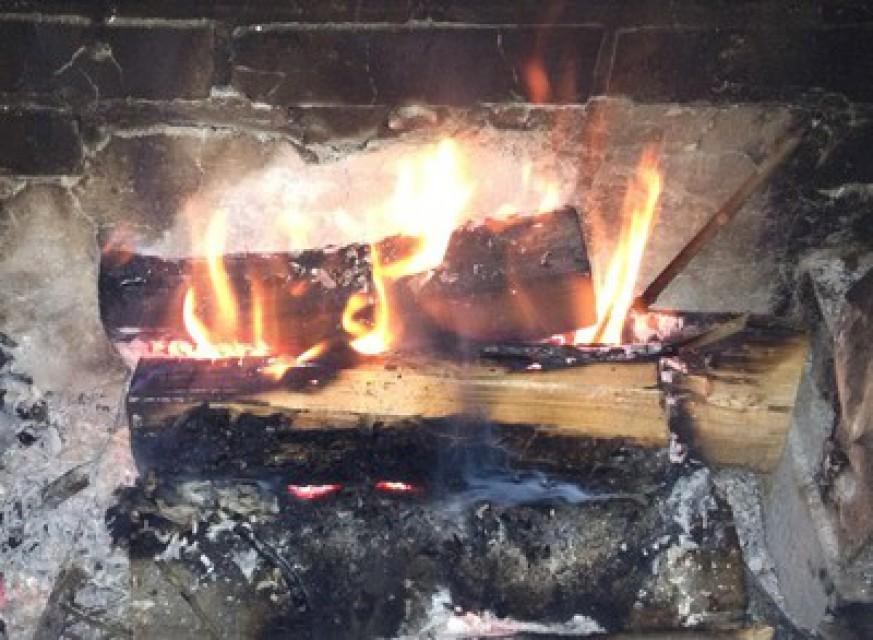 Romantic Evening Fire