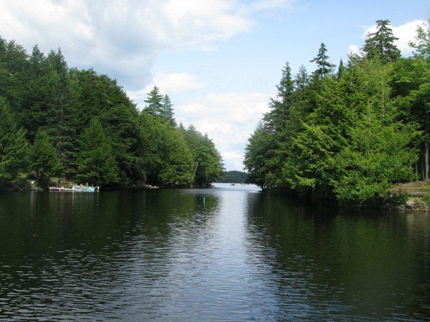 Throughway to Cranberry Lake