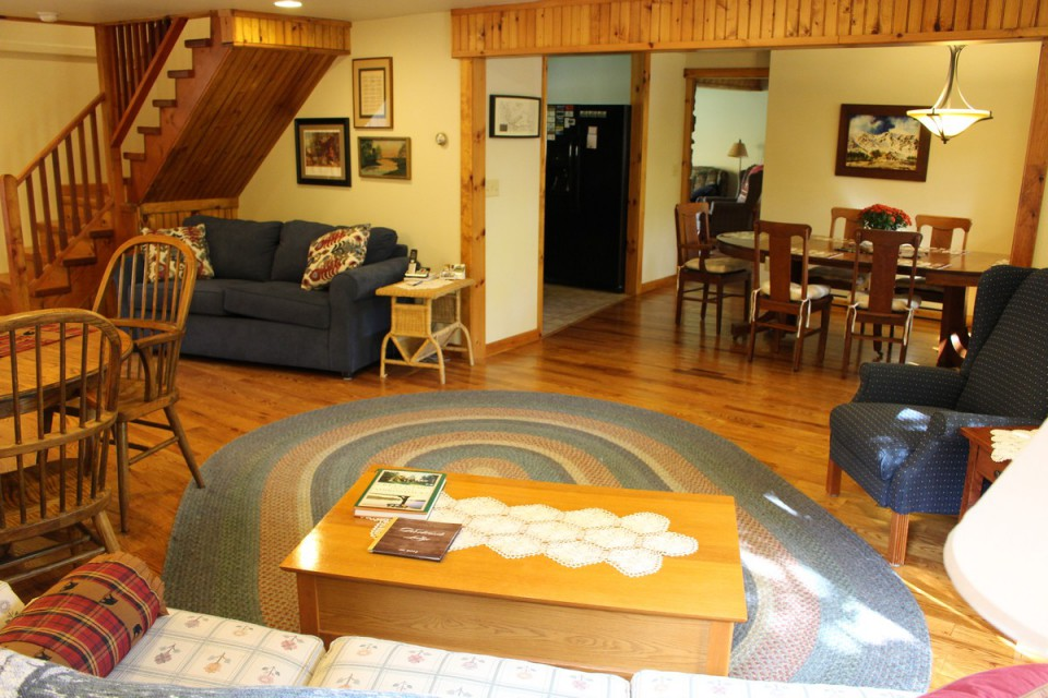 Main Living Room and Dining Room