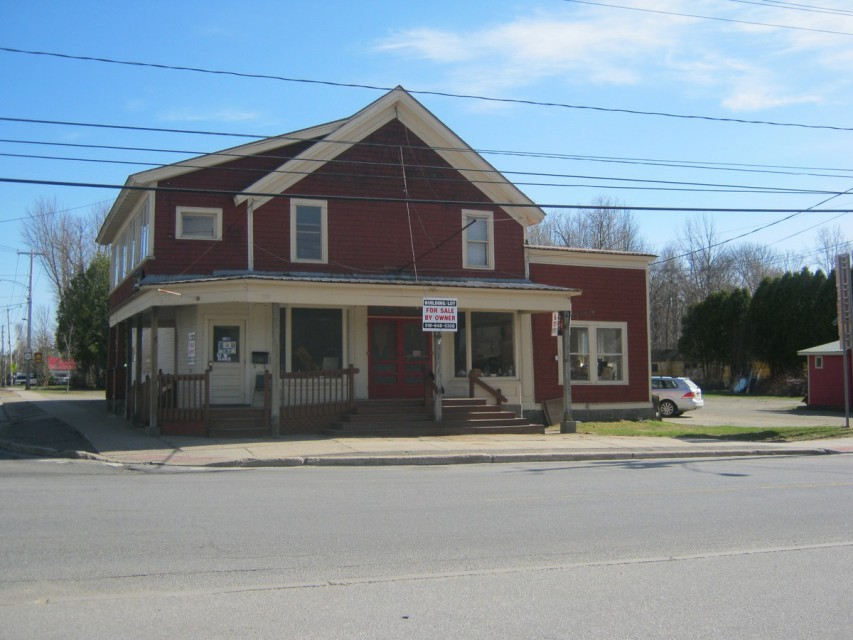 Front of Building (Route 28 & 30 Intersection)