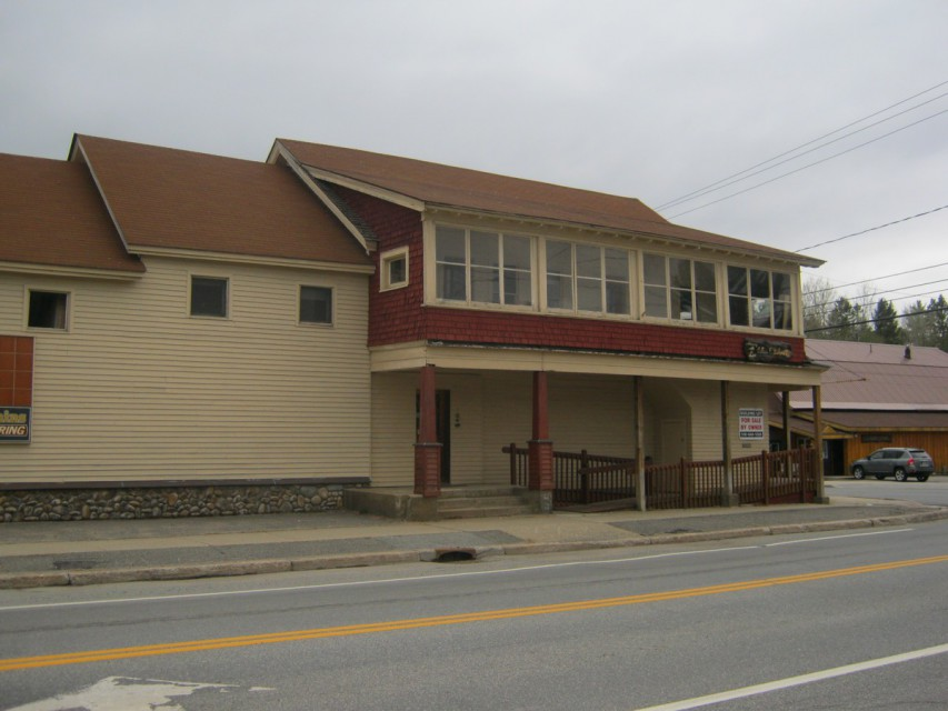 Side of Building (Along Route 30)
