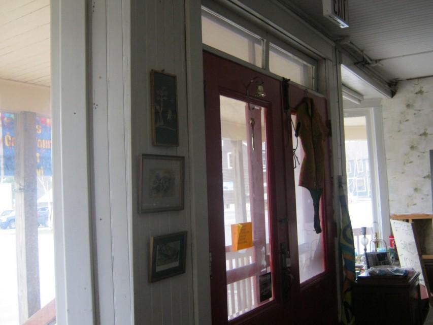 Downstairs Showroom Looking Toward Front Doors