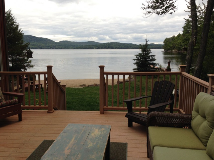 View from the deck off Kitchen & Great Room