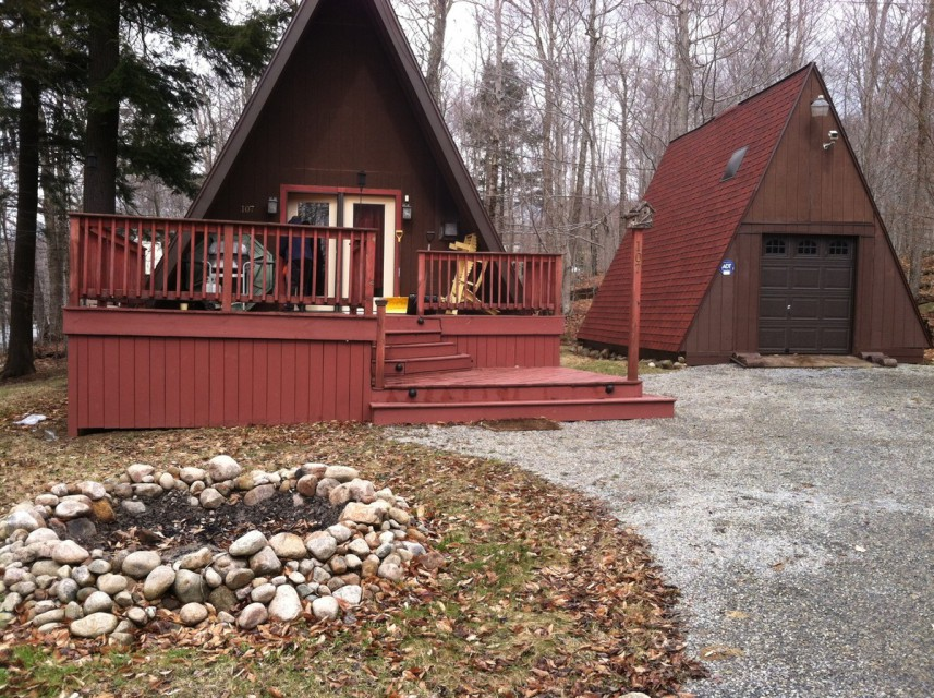 A-Frame and Garage