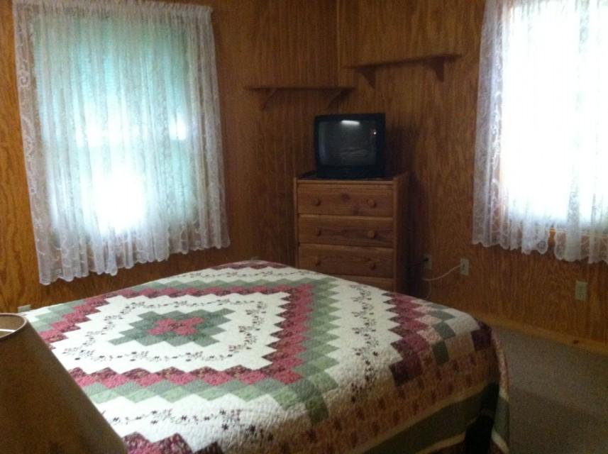 Queen Bedroom #1 with T.V.
