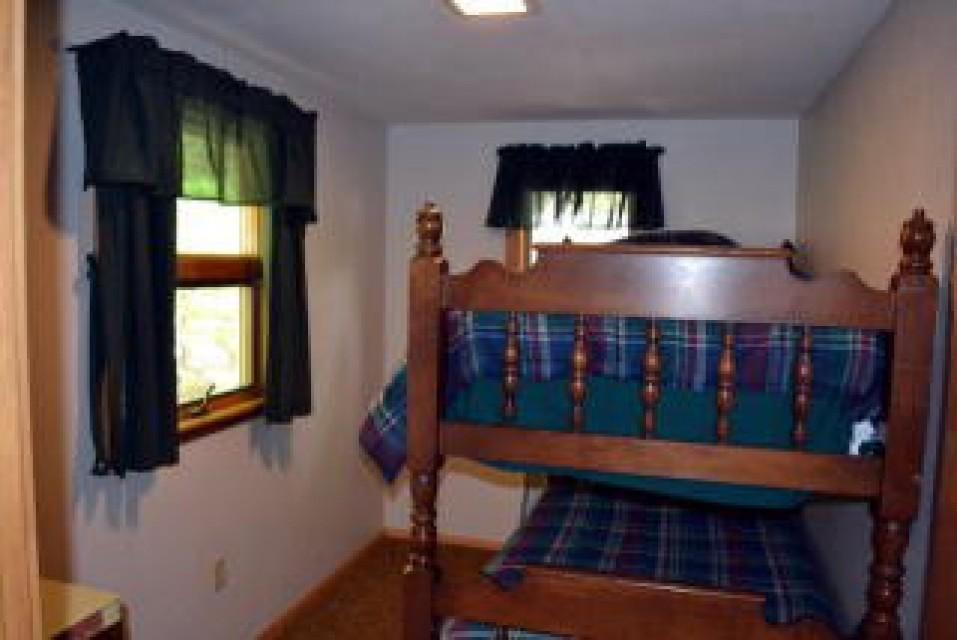 Bedroom 4 2 twin bunk bed