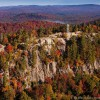 Enjoy the fall foliage from Bald Mountian