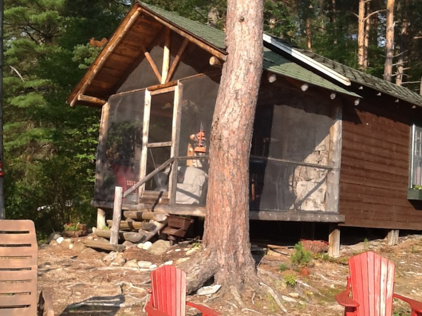 Jake's Point Waterfront Camping Cabins