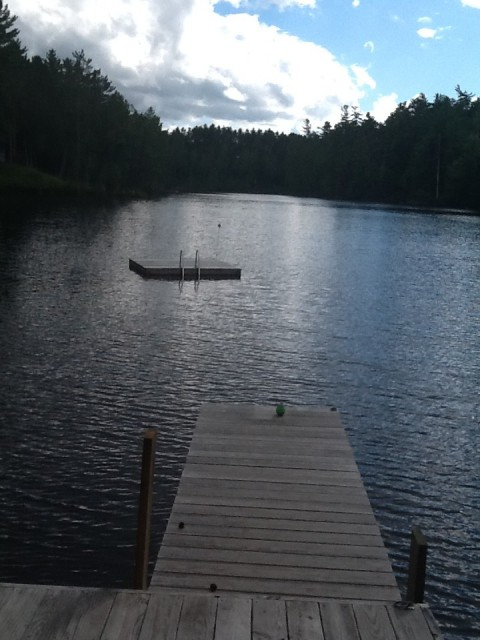 View from boat dock