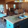 Open floor plan, kitchen center island
