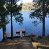 private dock w/ trex decking and swim ladder