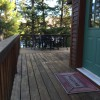 side entry to home and to front deck