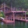 Redwood Log Cabin, 3 Boat dock and Sun deck