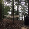 Hammock next to deck overlooks Lake George..rest