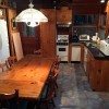Kitchen with dishwasher,refrig, and electric stove.