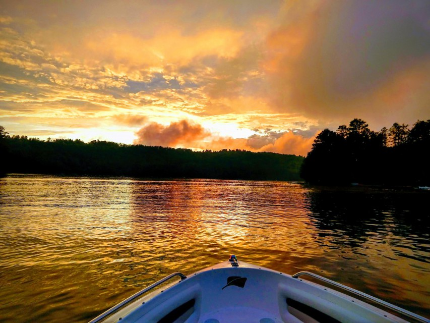 Sunset on Loon Lake