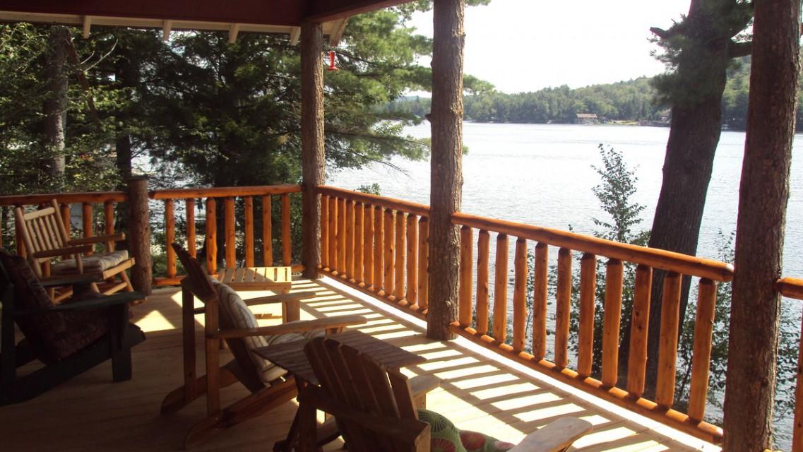 Front Porch-lake side