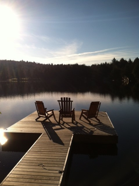 Dock with ADK chairs