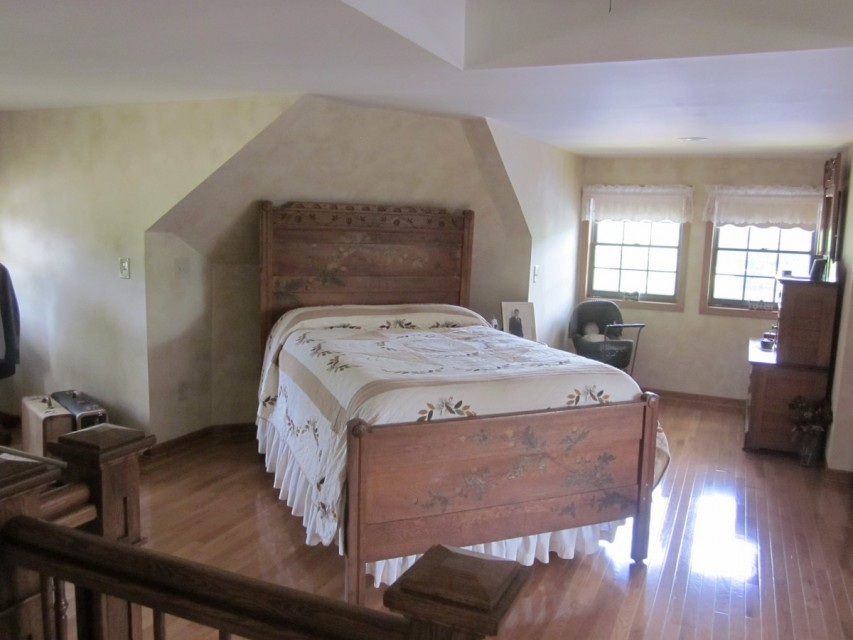 Upstairs Bedroom with Attached Bathroom