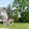 Front view, Deck facing Lake Champlain