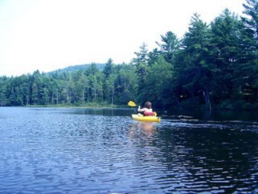 Tripp Lake - 5 minute walk