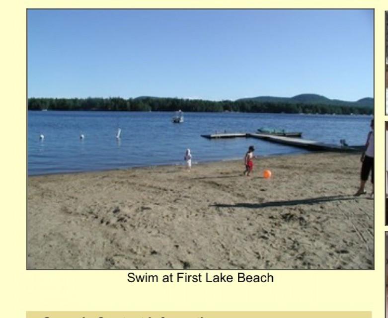 First Lake Beach