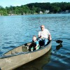 canoe, kayaks, and peddle boat for use