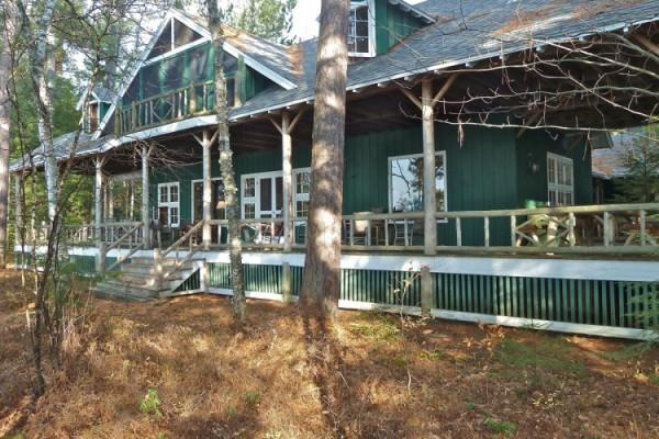 Lake House Porch, 40 feet from lake