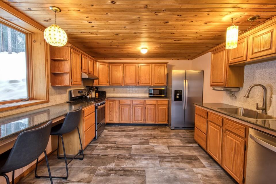 Kitchen with Radiant Floor Heat